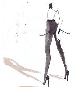 Jacqueline Bissett – Fashion Illustrator & Figurative Artist