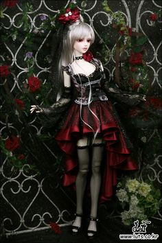 LUTS - Ball Jointed Dolls (BJD) company :: Delf, Bluefairy, Blythe, Doll items like wig, clothes, shoes and Doll faceup materials: