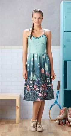 Só na Antix Store você encontra Vestido Midi Paraquedismo com exclusividade na…