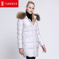 >> Click to Buy << 2016 new hot winter Thicken Warm woman Down jacket Coat Parkas Outerwear Hooded Raccoon Fur collar Straight long plus size 2XXL  #Affiliate