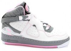 pink and grey jordans