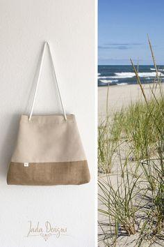 Tasche, Strandtasche, Sporttasche, Yogatasche, Shopper mit Innenfutter // Beach Bag, Yoga Bag, Sportsbag, Shopping Bag, Tote Bag von byJadaDesigns auf Etsy