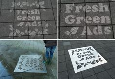 Creative Ambient Advertising Goes Green