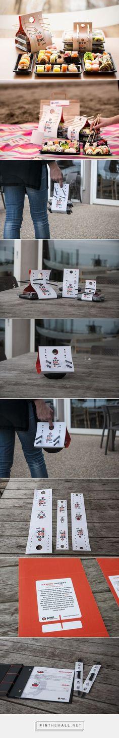 Umi Sushi Experience packaging design by Javier Garduño Estudio de Diseño - http://www.packagingoftheworld.com/2016/10/umi-sushi-experience.html