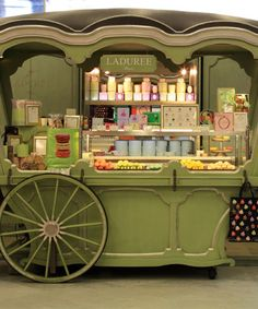 Laduree - Macaron shop in Paris