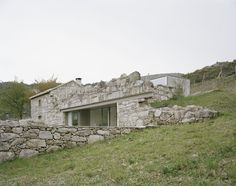 House in Melgaço, Portugal / Nuno Brandão Costa, 2016 - an extension of a very small rural stone building