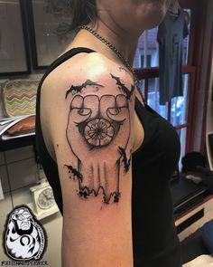 For info or appointments -> info@luckycharmtattoo.nl  @fabienne_tattoo @lucky_charm_tattoo  #amsterdamtattoo #tattoo #tattooamsterdam #tattoolife #tattooshop #inkedup #holland #tattoodo #tattoogirls #colortattoo #blackwork #blackworkerssubmission #blackandgreytattoo #iblackwork #onlyblackart #btattooing #blacktattoomag #dotwork #stippling #flashaddicted #tttism #taot #inkig #femaletattooartist #tattoosnob #oldlines #gonzofist #huntersthompson #fearandloathinginlasvegas #journalism #peyote