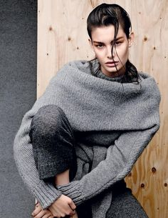 StyleANDMinimalism-Editorials-Sept-2014-Vogue-Russia-Knitted-Ophelie-Guillermand-004