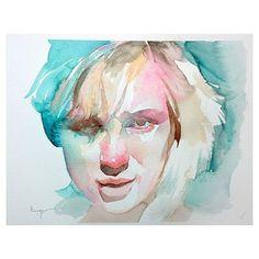 6/14/2016 watercolor  #watercolor #weekday #art #fineart #people #faces #portrait #insta #instagram #instaart #instaarte #instaartist #arches #danielsmithbrand #coldpressed #contemporaryart #artoftheday #watetcolour #watercolours #nickrungeart