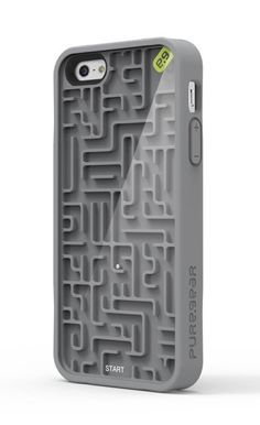 Maze Iphone5 Case  - for when the battery dies...you still have something to do! I NEED THIS.