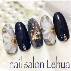 What you need to know about acrylic nails - My Nails Nail Swag, Cute Nails, My Nails, Belle Nails, Kawaii Nails, Japanese Nail Art, Flower Nail Art, Nagel Gel, Acrylic Nail Art