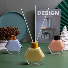 Glass Diffuser, Colored Glass, Bottle, Fragrance, Coloured Glass, Flask, Jars, Perfume, Stained Glass