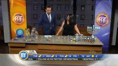 Hanukkah treats with parenting blogger Tanya Toledano