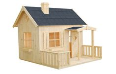 Otto log cabin, garden office, Log Cabins for sale, Free Delivery Popsicle Stick Crafts House, Popsicle Sticks, Craft Stick Crafts, Diy And Crafts, Fairy Houses, Dog Houses, Play Houses, Matchstick Craft, Cabins For Sale