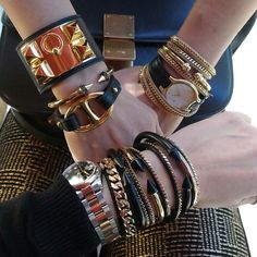 vitafede and hermes arm candy.