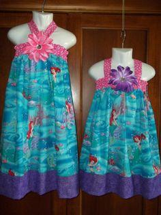 ariel birthday party | Ariel Princess dress Disney Birthday Party outfit mermaid halter knot ...