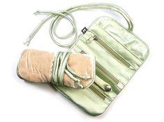 Jewellery Roll - Pear Velvet Fair Trade Jewelry, Jewelry Roll, Shades Of Green, Pear, Rolls, Delicate, Velvet, Jewellery, Jewels