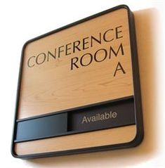 Professional Conference Room Signs