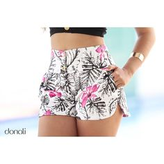 Pretty shorts on screen print- Bonito short en tela estampada Pretty shorts on screen print - Cute Shorts, Boho Shorts, Floral Shorts, Love Fashion, Fashion Outfits, Womens Fashion, Summer Outfits, Cute Outfits, Chor