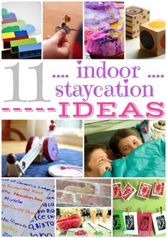 11 Fun Indoor Staycation Ideas For Kids 11 Fun Indoor Staycation Ideen für Kinder Family Birthdays, Indoor Games, Family Activities, Outdoor Activities, School Holidays, Business For Kids, Staycation, Outdoor Fun, Crafts To Do
