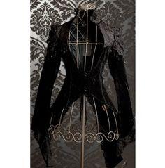 Black Velvet Tailcoat Jacket