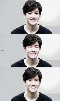 Baekhyun #EXO he's boyfriend material I mean look at him!