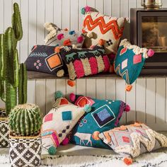Tribal Cushion Collection