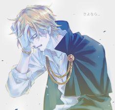 Sanji #handonhead #crying