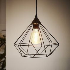 Buy the Eglo Matte Black Direct. Shop for the Eglo Matte Black Tarbes Wide 1 Light Cage Style Single Pendant and save. Cage Pendant Light, Large Pendant Lighting, Copper Pendant Lights, Cage Light, Black Pendant Light, Pendant Lamp, Round Pendant, Breakfast Bar Lighting, Breakfast Bar Pendant Lights