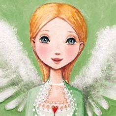 Angel artist Illustration by www.MilaMarquis.com and www.Facebook.com/MilaMarquisillustration