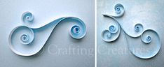 Quilling ideas for flourishes :-)