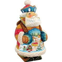 G. DeBrekht Town Traveler Figurine * You can get more details by clicking on the image. (This is an affiliate link) #CozyHomeDecor