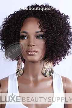 5 Reasons That Make Lace Front Wigs A Great Choice - Human and Synthetic Hair Wigs Weave Hairstyles, Cool Hairstyles, Black Hairstyles, Synthetic Lace Front Wigs, Synthetic Hair, Wig Styles, Curly Hair Styles, Natural Updo, Afro Curls