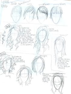 Hair tutorial by *burdge-bug on deviantART