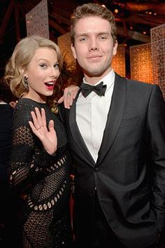 Taylor and her brother