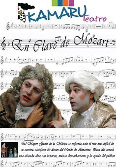"""30/11 Teatro """"En clave de Mozart"""". Villarcayo 19:30 Salon de actos. Caja Burgos  Con Karamú Teatro  Entradas: Casa de Cultura (Lunes a Viernes) 2€ Taquilla (Sábado a partir de 19:00h) 4€"""