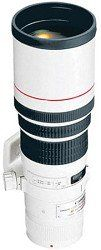 Canon EF 400mm f/5.6L USM Super Telephoto Lens for Canon SLR Cameras - $ 1,199.00     FEATURED  Canon EF 400mm f/5.6L USM Super Telephoto Lens for Canon SLR Cameras   Lens construction: 7 elements in 6 groups. Fluorite and Ultra-low Dispersion-glass; internal focusing; full-time manual focus. Closest Focusing Distance: 3.5m / 11.5 ft. Focal Length  Maximum...