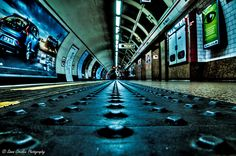 A day in London #9 (St Paul's Station) [EXPLORED] by Simon Cresdee, via Flickr