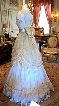 Costume, Hillwood Estate, Museum IMG_7369 Hillwood Estate, Museum & Gardens, Washington, DC. The home of Marjorie Merriweather Post. Photograph by Dolores Kelley. Roy and Dolores Kelley Photographs