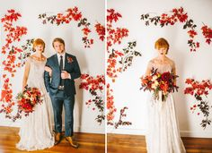 If you thought a fall wedding wasn't for you, this beautiful editorial seriously just might change your mind by Nhiya Kaye Photography and Sax Romney.
