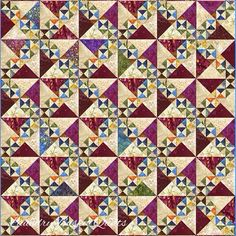 Laundry Basket Quilt of the Day - Paddleboat