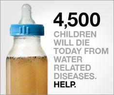 Contribute water through ContributeShopping