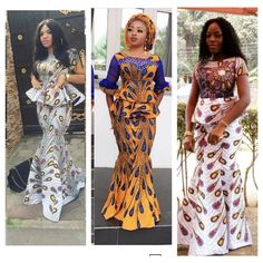 When it comes to Ankara style looks, we've got you covered…. In this style feature, you will see how Ankara is used as Aso-Ebi. Ankara can be rocked to… African Print Dresses, African Print Fashion, Africa Fashion, African Fashion Dresses, African Dress, African Attire, African Wear, African Women, Ankara Stil