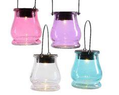 Kerti dekorációk : Napelemes lámpás