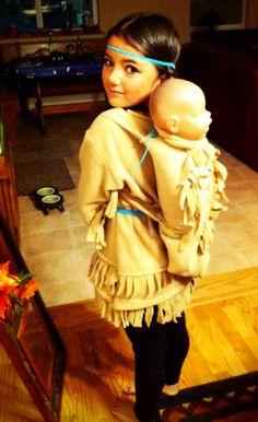 Storm's Sacagawea Costume 2013 Halloween