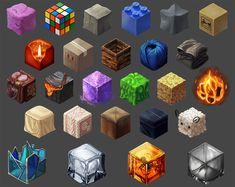 ArtStation - Cube Material Studies, Caroline Breaux