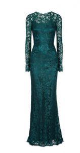 Maxi lace dress by Dolce & Gabbana