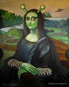 Mona Lisa Framed Prints [theyreamongstus] (Gioconda / Mona Lisa)