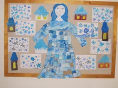 výtvarné práce žáků zima - Hledat Googlem