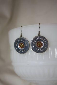 Remington Shotgun Shell Earrings